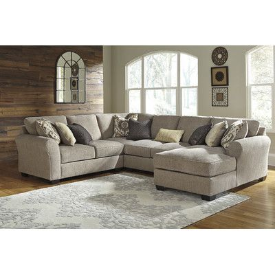 Benchcraft Pantomine Reversible Sectional With Images Living Room Furniture City Furniture Sectional Sofa Couch