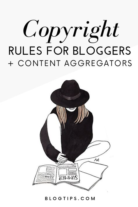 Blog Legal Pages - Copyright Rules For Bloggers