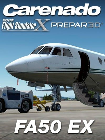 CARENADO : FA50 EX FSX/P3D Special FeaturesVersion 1 2Full FSX, P3D