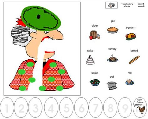 Boardmaker Online   I Know an Old Lady Who Swallowed a Pie