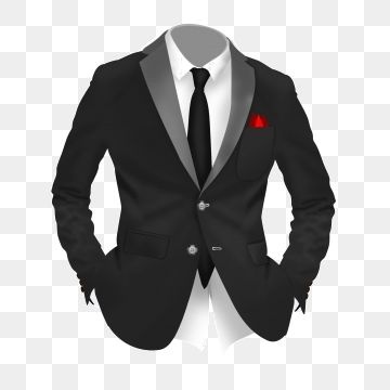 Free Cartoon Black Suit Colorful Tie White Shirt Yellow Suit Png Transparent Clipart Image And Psd File For Free Download Yellow Suit Black Suits Free Cartoons