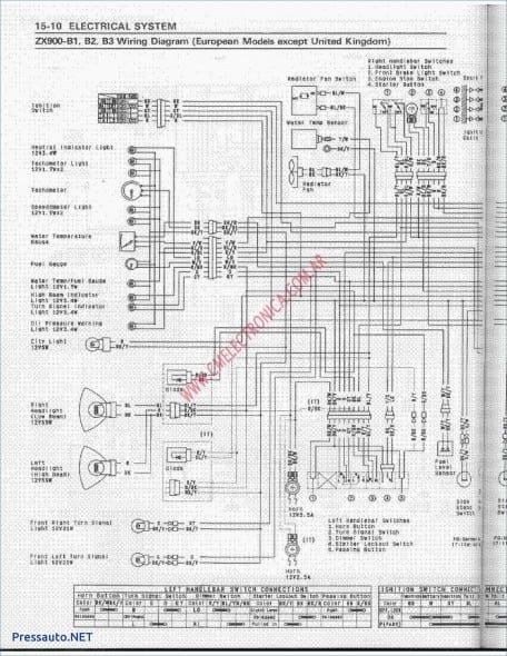 zx6e wiring diagram 1997 kawasaki zx6r wiring diagram di 2020  dengan gambar   1997 kawasaki zx6r wiring diagram di