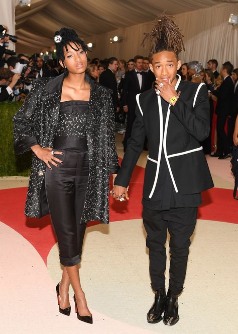 Pin for Later: The 23 Met Gala Moments You Need to See Pictured: Jaden Smith and Willow Smith
