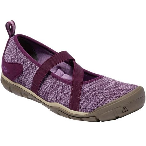 fcad63225c3e Give your hard-pounding feet the coddling they deserve in sweater-soft Keen  Hush Knit Mary Jane Shoes with a fatigue-fighting ergonomic design.