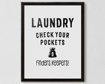 Loads Of Fun Funny Laundry Funny Laundry Quote Laundry Room Etsy With Images Laundry Symbols Printable Laundry Humor Laundry Room Art