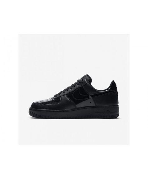 info for b4637 7a27e Nike Air Force 1 07 Patent Womens BlackBlack Shoes, AH0287-001 Sale