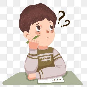 Cartoon Little Boy School Classroom Free Buckle Starting School Serious Pencil Student Learn Write Homew Art Drawings For Kids Cartoon Clip Art Student Clipart