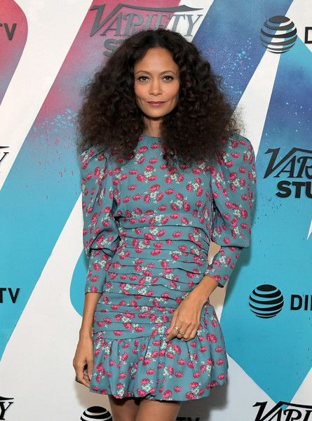 Thandie Newton stops by DIRECTV House presented by AT&T during Toronto International Film Festival 2018.