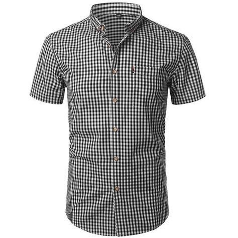 Material: COTTONShirts Type: Casual ShirtsSleeve Length(cm): ShortCollar: Square CollarClosure Type: Single BreastedItem Type: ShirtsSleeve Style: REGULARGender: MENModel Number: ffdfdFabric Type: BroadclothStyle: CasualPattern Type: Plaidshirt,camisa masculina,plaid shirts men: slim fit,camisetas hombre,plaid dresscamisa social masculina,men plaid shirt: dress shirt,camisas hombre vestirmen shirt,camisa,camisas para hombre: camisa masculina manga curta,plaid shirt mencamiseta masculina,camisas
