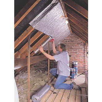 Ybs Thermawrap General Purpose Insulation 1 1 X 10m Loft Insulation Screwfix Com Attic Insulation Attic Flooring Attic Remodel