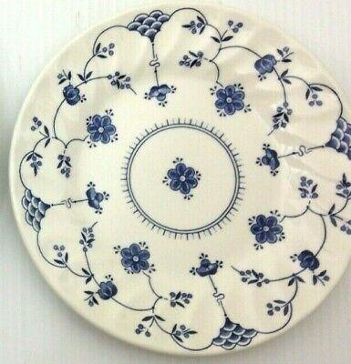 Churchill Finlandia Dinner and Salad Plate Dinnerware China Blue and White | eBay
