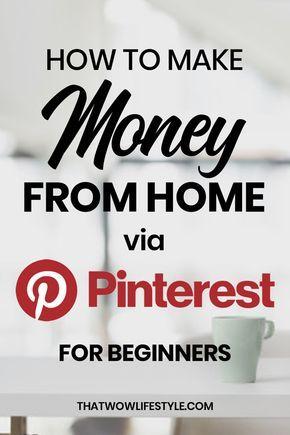 How To Make Money On Pinterest - Beginner's Guide 2020