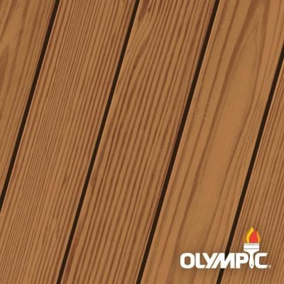 Olympic Maximum 5 Gal Canyon Brown Exterior Stain And Sealant In One 57505a 05 With Images Exterior Stain Exterior Wood Stain Wood Deck Stain