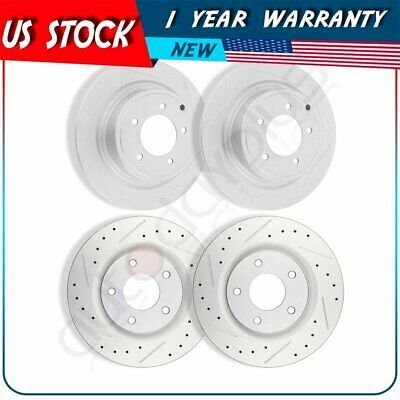 Rotors Ceramic Pads F OE Replacement 2007 2008 2009 Fits Nissan Altima