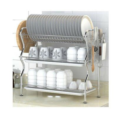 22 Wide X 9 5 Deep X 20 High Kitchen Drying Dish Drainer Rack