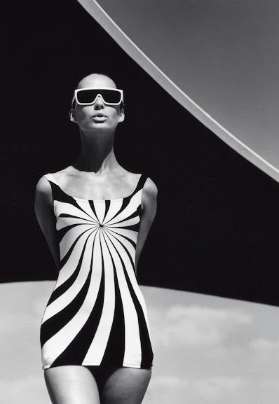 1960's beachwear - photo f.c. gundlach 1966 Love this swimsuit! Women's vintage summer swimwear fashion photography photo image
