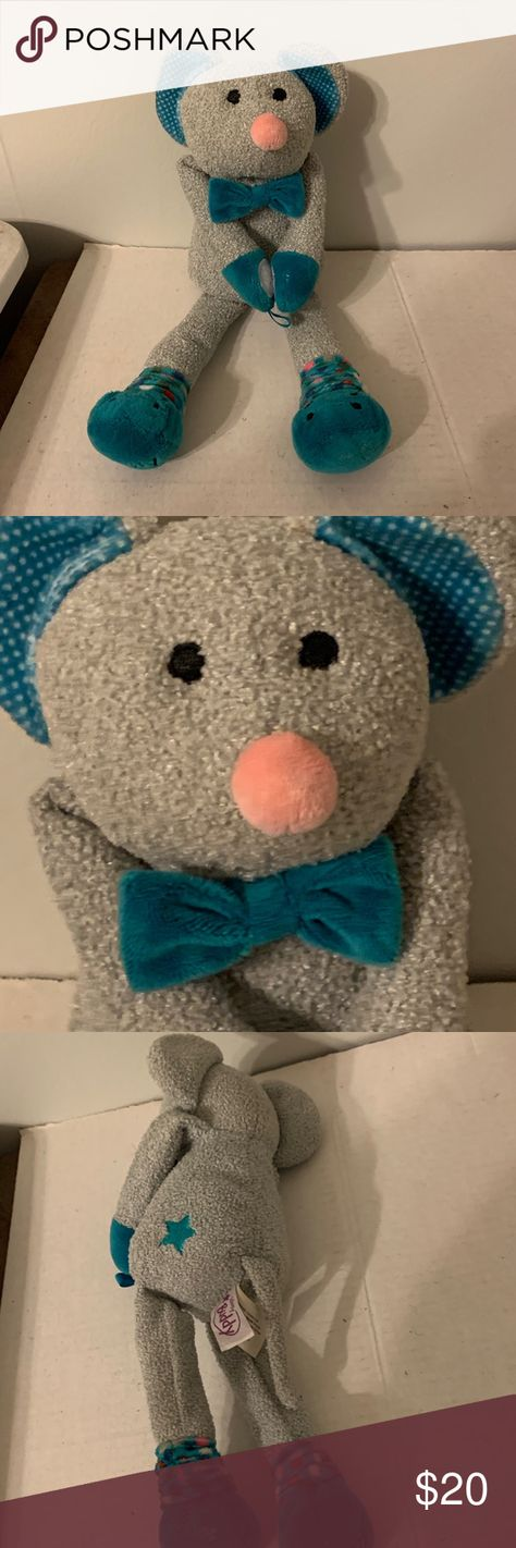 """Scentsy Buddy Murphy the Mouse Nursery scent This listing is for a Scentsy Buddy.  Murphy the Mouse.  Nursery scent.  12"""".  He's in great preowned condition.  No rips, stains or tears. Scentsy Other"""