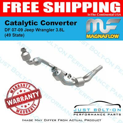 Magnaflow Catalytic Converter Df 07 09 Jeep Wrangler 3 8l 49 State 49689 Jeep Wrangler Wrangler Jeep