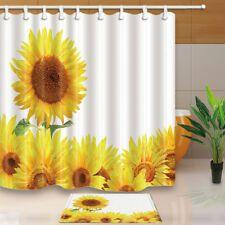 Find Great Deals For Summer Bright Sunflower Bathroom Waterproof
