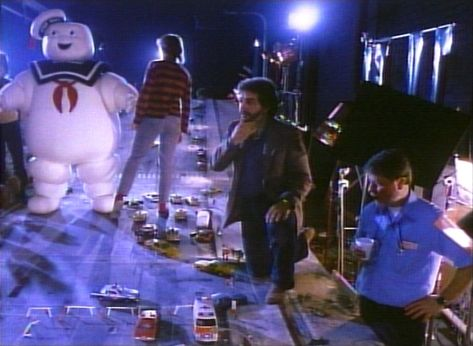 Rare Behind-The-Scenes Photos From 'Ghostbusters' (1984)