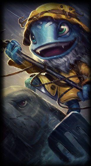 Fisherman Fizz League Of Legends Fizz Fisherman
