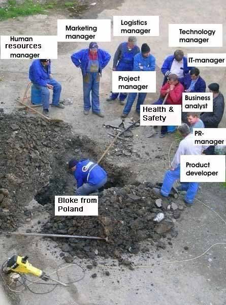 Image result for polish worker meme