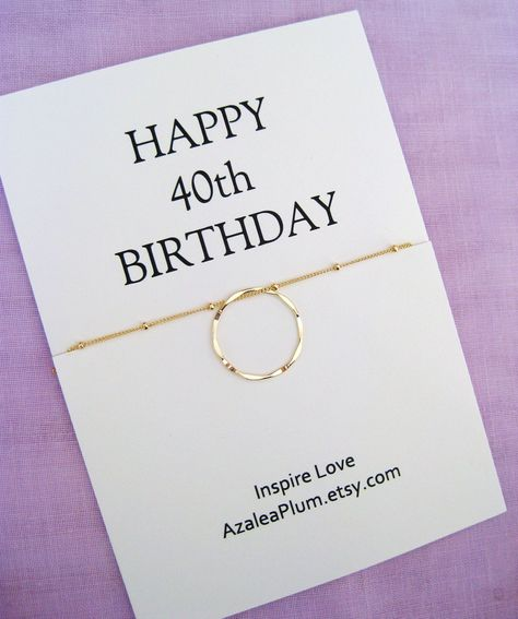 40th Birthday Gifts for Women, Birthday Gift, Jewelry Gift For Her, 40th Birthday Gift for Her, 40th Birthay Necklace