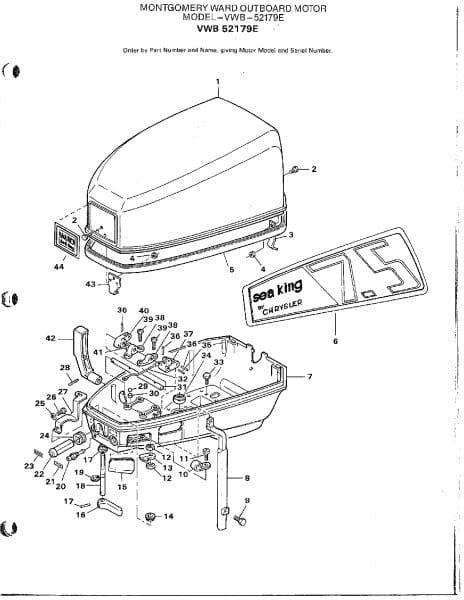 Mercury Engine Diagram