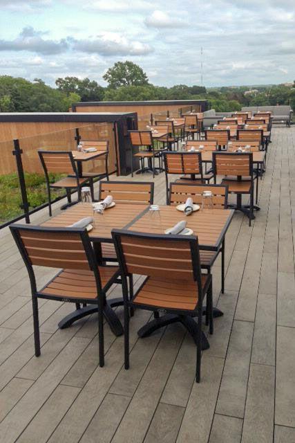 Beautiful Outdoor Restaurant Furniture Commercial Patio