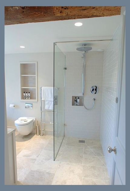 Love The Rain Shower Head Without Having To Plumb From Above