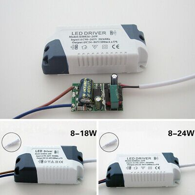 Led Driver 8 18w 8 24w Dimmable Ceilling Light Transformer Power Supply Useful Led Drivers Led Strip Lighting Dimmable Ceiling Lights