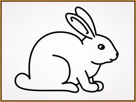 Dibujos Para Pintar Conejos De Pascua Cuarto Niñas раскраски