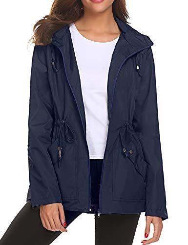 énorme réduction f55bc 091da Veste Impermeable Femme Coupe-Vent/imperméable Vestes de ...