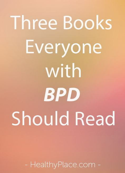 More Than Borderline's Becky Oberg discusses why people with BPD need to read three books related to trauma.   www.HealthyPlace.com