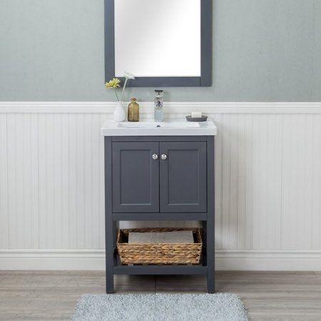 Winston Porter Hagins 24 Single Bathroom Vanity Set Walmart