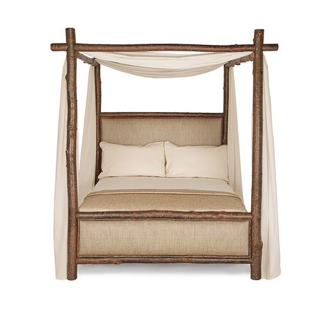 wood and upholstery bed.  Rustic Canopy Bed 4540 4546 canopy beds and Upholstery