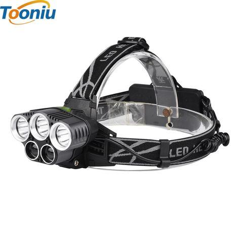 5 Cree Led Headlamp Xm L T6 Q5 Headlight 15000 Lumens Led Head Lamp Camp Hike Emergency Light Fis Light Flashlight Rechargeable Headlamp Led Headlamp