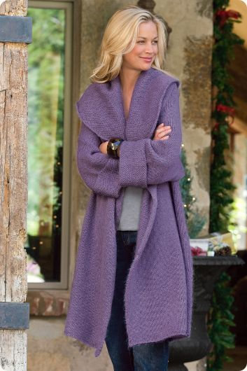This comes in Camel which I think I would get more use out of, but the lilac is very pretty and I like it better. So go ahead and get the purple
