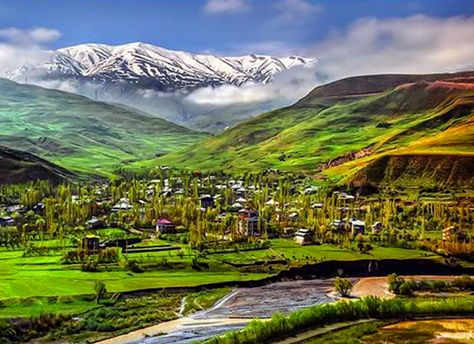 nature #Nature of #Taleqan city is a...