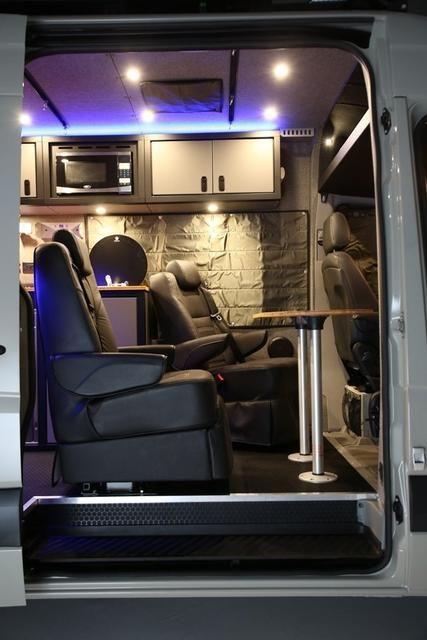 Rb Gear Hauler Van Gd 170 Solar Power Panels Van Wall Sprinter Van