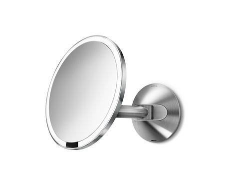 Sensor Mirror 8 Wall Mount 5x Magnification Wall Mounted Makeup Mirror Wall Mounted Mirror Wall Mounted Magnifying Mirror
