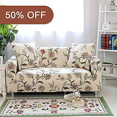 Amazon Com Lamberia Spandex Fabric Stretch Sofa Slipcover Couch