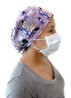 Print Surgical Cap Women I Nurse Cap