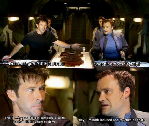 Stargate Atlantis - McKay and Sheppard banter lol