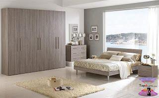 أجمل الوان غرف النوم للمتزوجين 2019 Modern And Contemporary Bedrooms Contemporary Bedroom Furniture Home