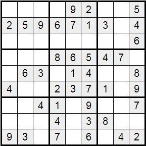 Sudoku Para Imprimir Nº 27 Imprimir Sobres Sudokus Material Didactico Para Matematicas