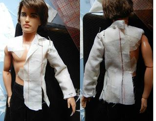 Making clothes for Ken dolls fashiondollstylist.blogspot.com