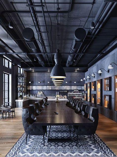 40+ Awesome Cafe Design Interior Modern Decor Ideas - #Awesome #Café #decor #de... :  40+ Awesome Cafe Design Interior Modern Decor Ideas – #Awesome #Café #decor #design #ideas   #awesome #Café #Decor #design #Ideas #Interior #Modern #modernRestaurant