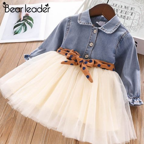 Baby Clothes 2018 Autumn Winter Baby Girls Long Sleeve Lace Princess Dress ZG8