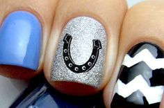 Lucky Horseshoe Nail Decals Pretty Nail Art Designs Trendy Nail Art Designs Trendy Nail Art